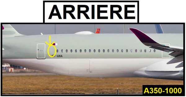 Différencier les versions de l'Airbus A350 6