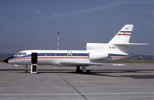 Caractéristiques du Dassault Falcon 50 4