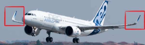 Airbus A320 Neo et ses winglets