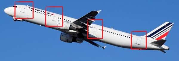Différencier les Airbus A318, A319, A320, A321 et NEO 4