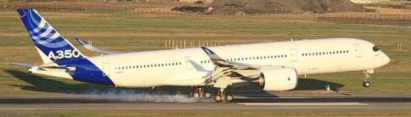Différencier les versions de l'Airbus A350 1
