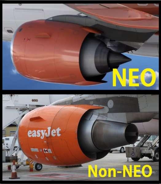 Différence moteurs A320 NEO et CEO
