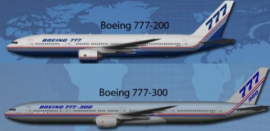 taille des 777