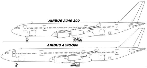 L'Airbus A340 et ses 4 versions 3