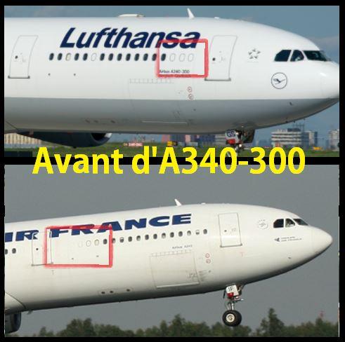 L'Airbus A340 et ses 4 versions 2