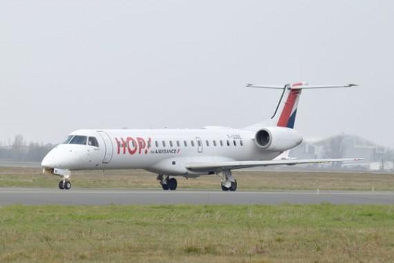 Différencier un Embraer 135 d'un Embraer 145 3