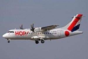 F-GPYB ATR42-500 HOP!