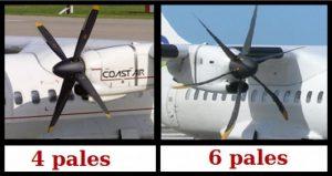 Différencier les ATR 42 et 72 ainsi que leurs variantes 1