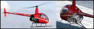 Différencier les Robinson R22 R44 et R66 1