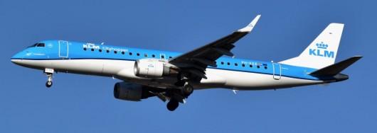 Embraer 190 KLM - Photo : Dylan Agbagni