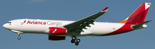 A330-200F cargo