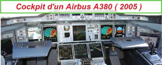 Cockpit d'un A380