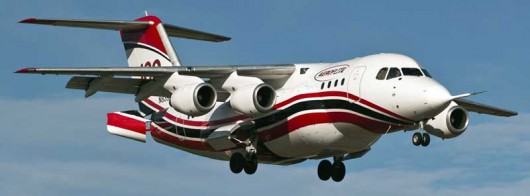 Conair-RJ85-first-flight-BAE-Photo