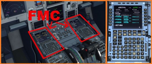 FMC d'un airbus