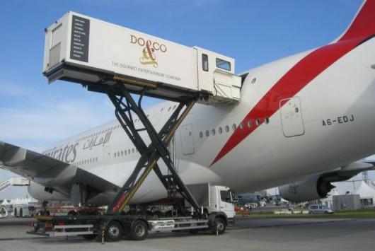 catering d'un A380