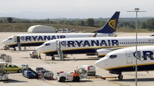Avions garés au parking