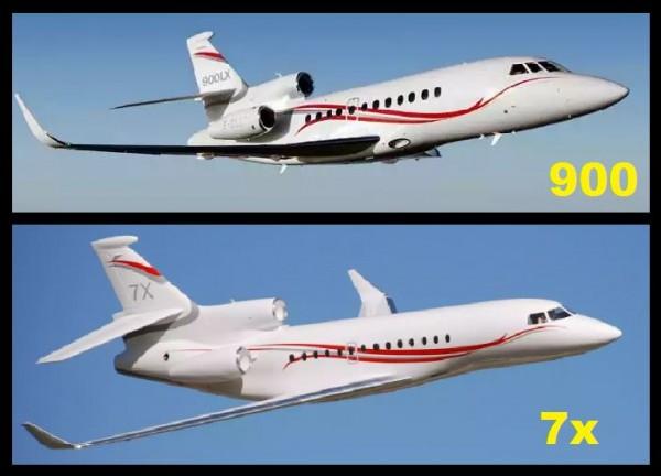 Falcon 900 et 7x