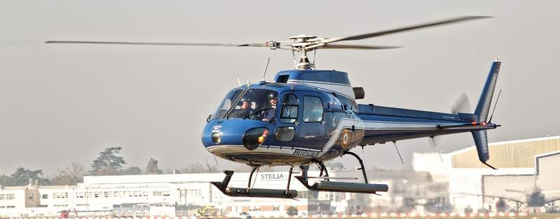 AS-350 Ecureuil de la gendarmerie nationale