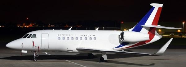 Falcon 7X république française