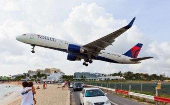 Boeing 757 au décollage