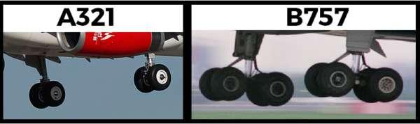 Trains d'atterrissage