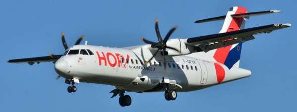 ATR-42 en vol