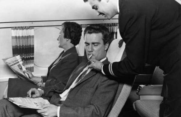 Que se passe-t-il si vous fumez dans l'avion ? 4