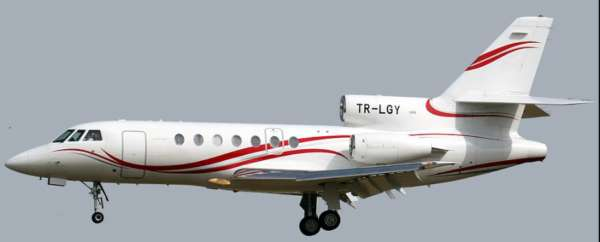 Caractéristiques du Dassault Falcon 50 1