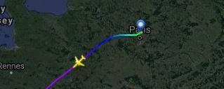 Voici l'avion qui a transporté le corps de Johnny Hallyday 3