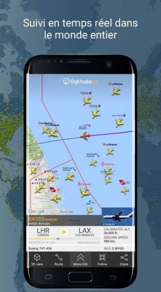 logiciel localisation avions