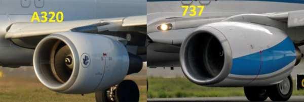 Comparatif des moteurs d'A320 et B737