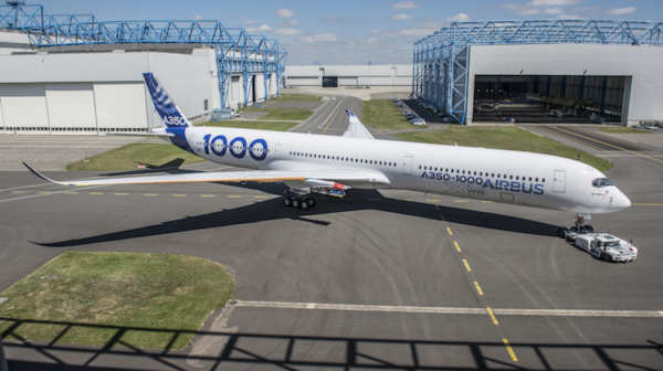Airbus A350 au sol