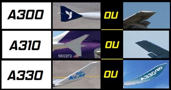 Comment différencier les Airbus A300, A310 et A330 ? 6