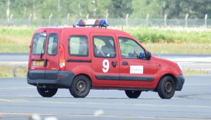 Kangoo des pompiers