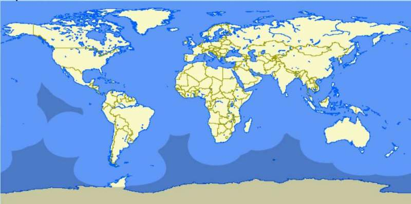 Pourquoi les avions passent par le Pôle Nord ? 8