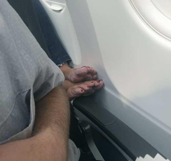 Top 10 des pires passagers en avion 9