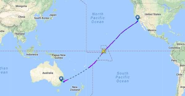 Pourquoi les avions ne traversent pas le pacifique et pôle sud ? 3