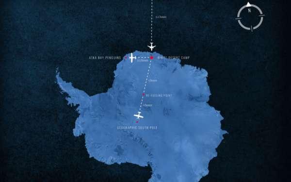 Pourquoi les avions ne traversent pas le pacifique et pôle sud ? 4