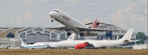 Boeing au décollage