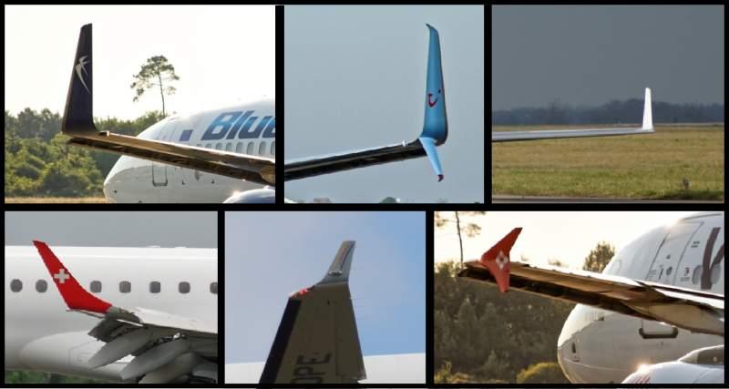 Les parties extérieures de base d'un avion 1