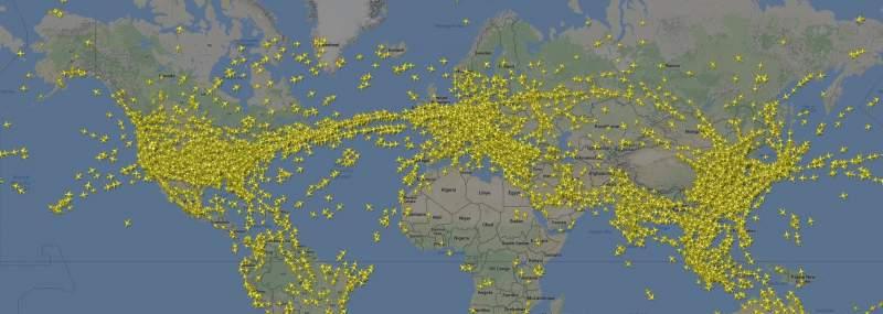 Pourquoi les avions volent bas ? 7