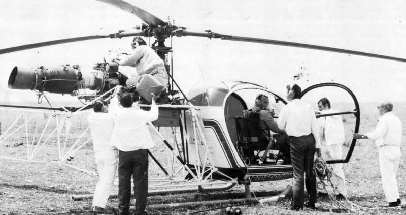 A quelle altitude volent les hélicoptères ? 6