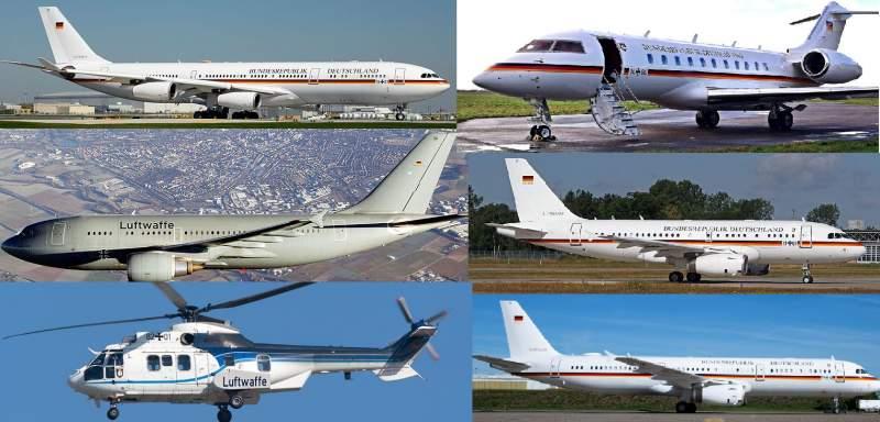 Est-il vrai que Merkel n'a pas d'avions et vole en avion de ligne ? 1