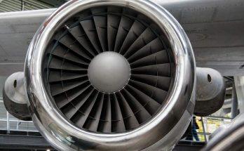 Moteur d'un avion