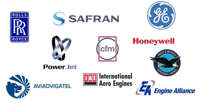 Liste des fabricants de moteurs d'avions