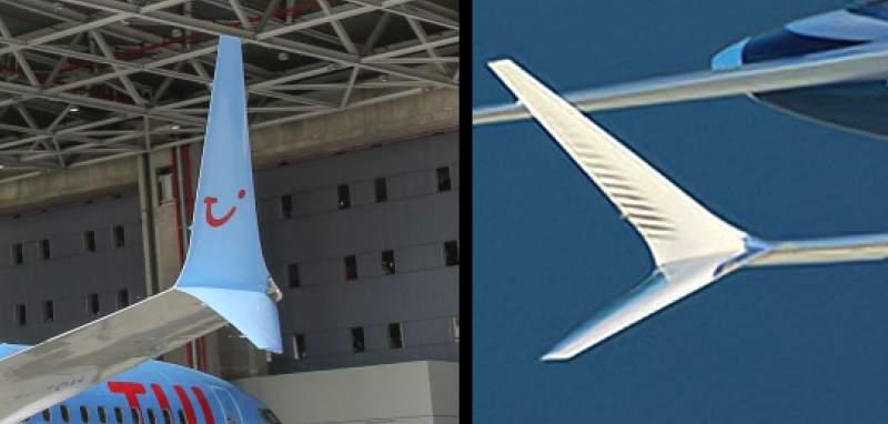 winglet Boeing 737 MAX