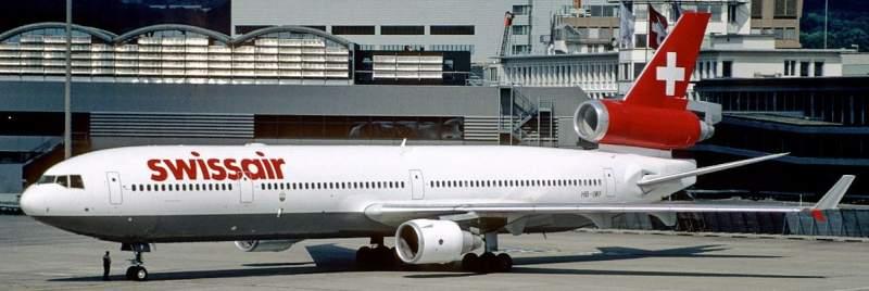 MD-11 de la compagnie Swissair