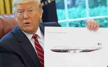 Trump dévoile la prochaine livrée d'Air Force One 1