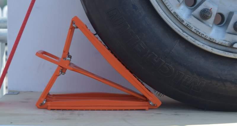 Des cales de roues d'avions révolutionnaires 4