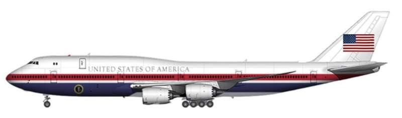 Trump dévoile la prochaine livrée d'Air Force One 3